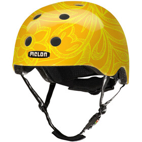 Melon Urban Active Story Sykkelhjelmer Mellow Yellow Gul/Orange